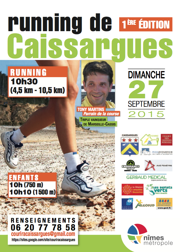 1ère Edition Running Caissargues